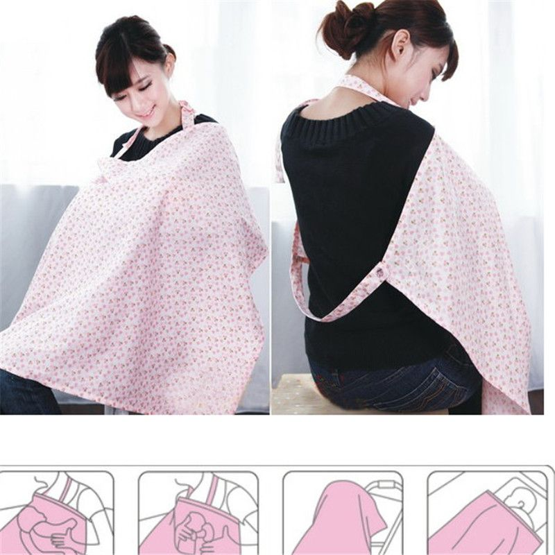 Newborn Baby Nurse Garment Materity Cotton Nursing Cover Women Udder Covers  Breast Feeding Baby Blanket Cloth  Nursing Cover