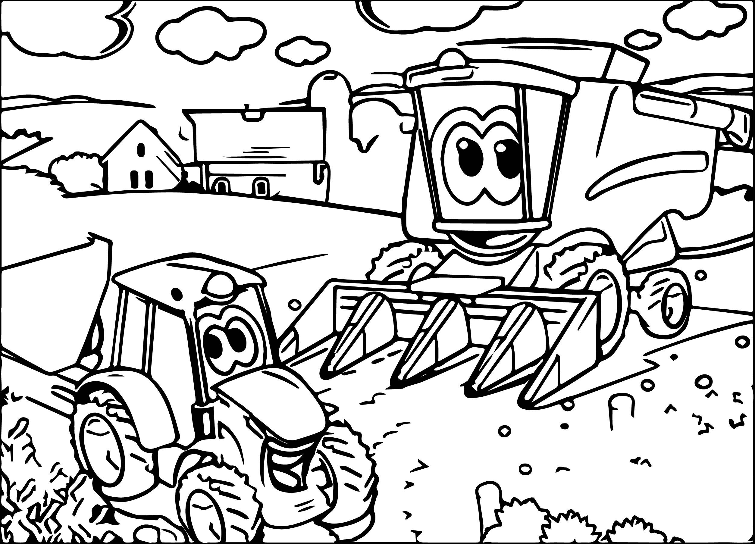 nice John Johnny Deere Tractor Coloring Page | Tractor ...