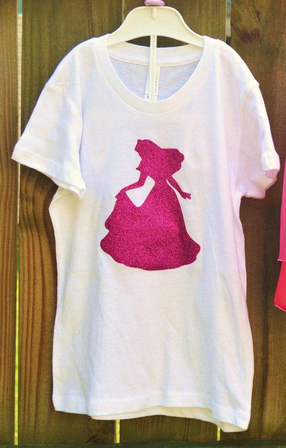 c39ea5a2b Aurora tshirt sleeping beauty shirt Glitter by MineOrYoursDesign ...