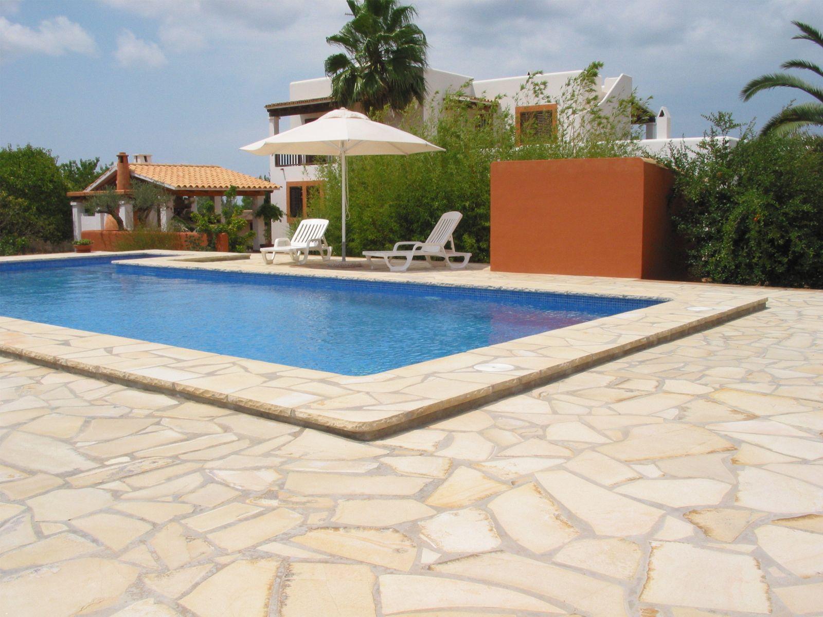 Piedra natural solnhofen caliza para pavimento de piscina - Suelos piscinas exteriores ...