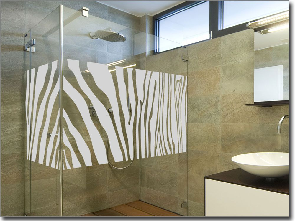 Glasbanner Zebra | Pinterest
