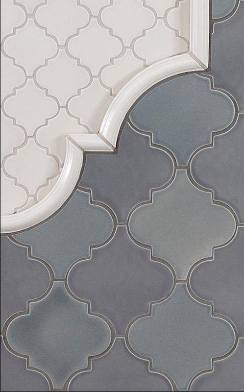 new releases kitchen tile portland by pratt and larson ceramics - Arabesque Tile Backsplash