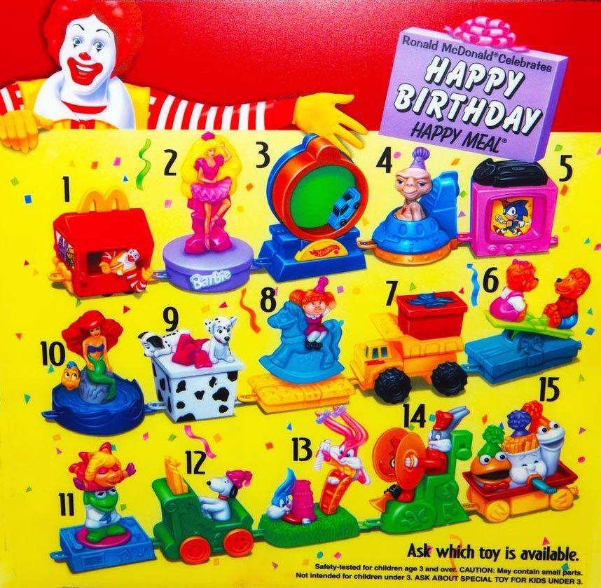 Https Kid Time Net Wp 2018 09 11 Mcdonalds Happy Meal Toys 1994 Happy Birthday Train 2020