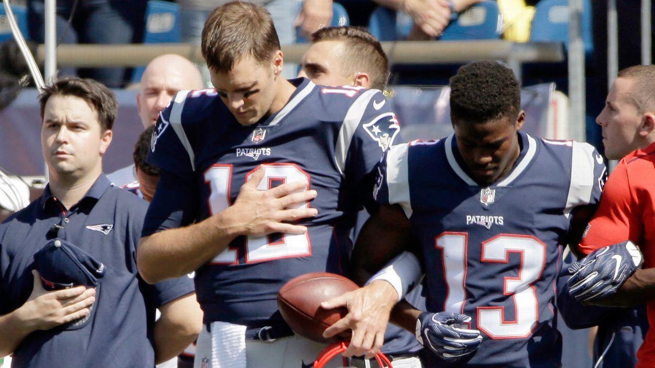 New England Patriots QB Tom Brady calls President Donald Trumps comments just divisive http://ift.tt/2wN1VRD https://t.co/w2NEislCFO September 25 2017 at 01:02PM http://twitter.com/luzuwiyic/status/912301338092097536