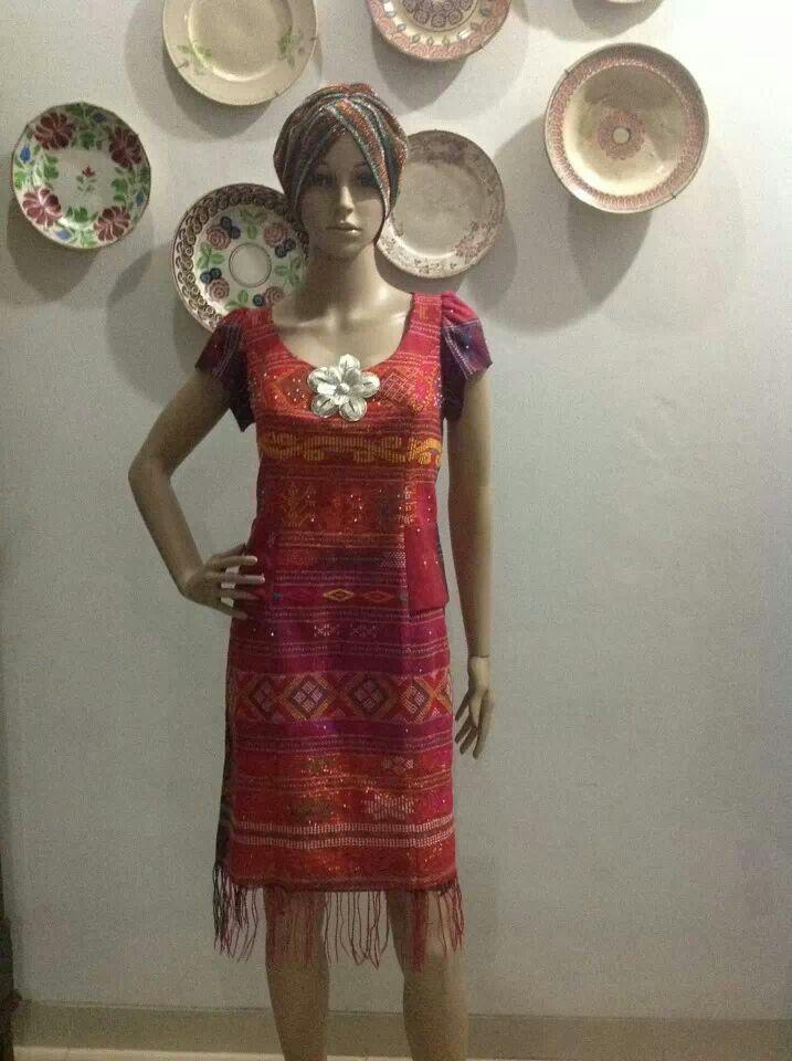 Baju Ulos Tenun Gaun Renda Pakaian Dan Gaun
