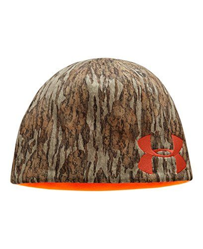 abb74257a0d05 Under Armour Men s UA Reversible Camo Beanie Combo Large   Extra Large  Mossy Oak Bottom Land
