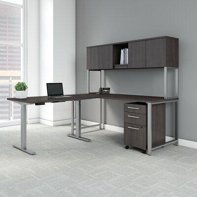 Bush Business Furniture 400 Series L Shaped Configurable Office