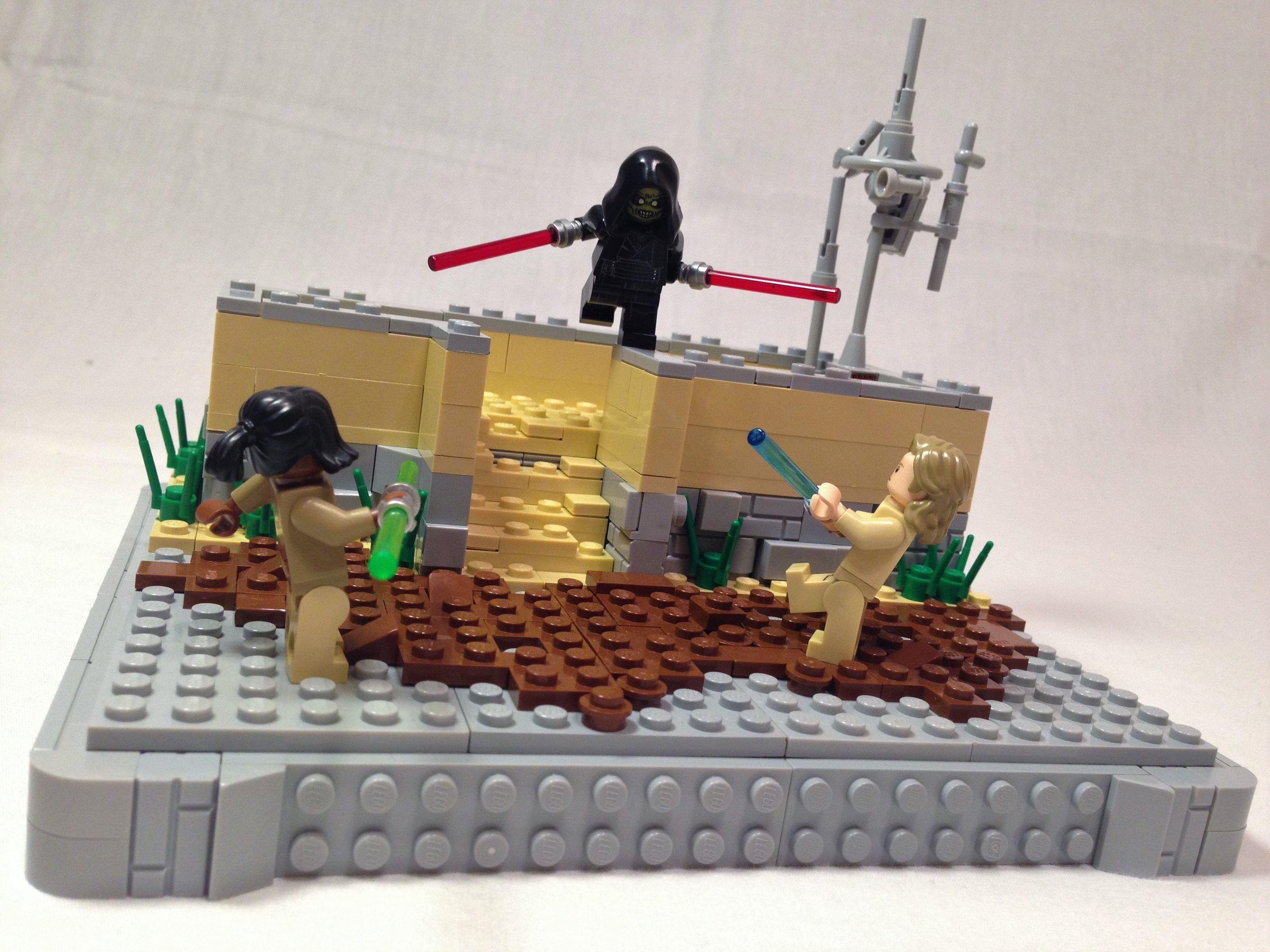 Jedi Vs Sith Showdown Lego Star Wars Moc Lego Star Wars Moc Lego Star Wars Lego Star Wars Mocs