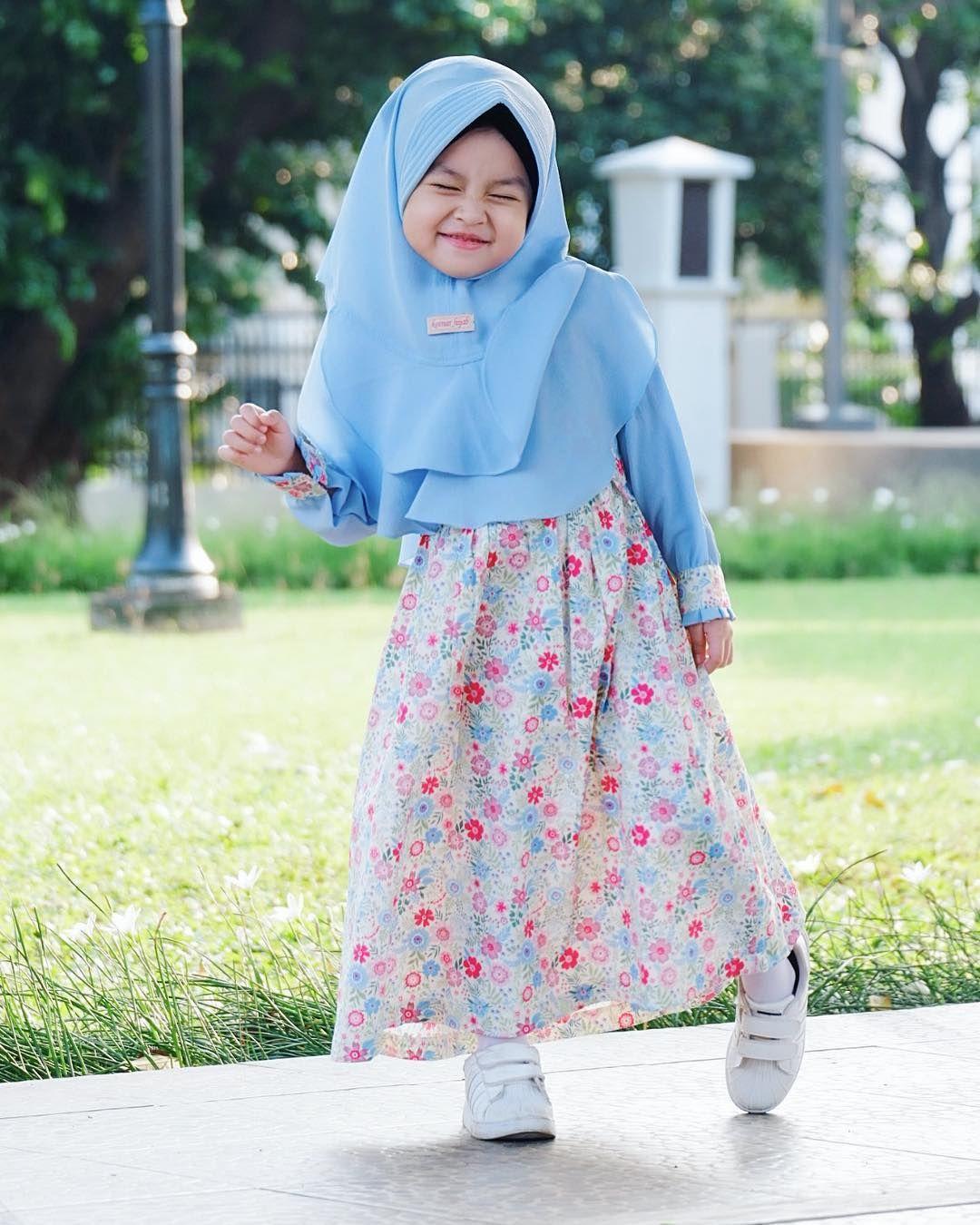 gamis anak katun jepang motif bunga  Pakaian bayi perempuan