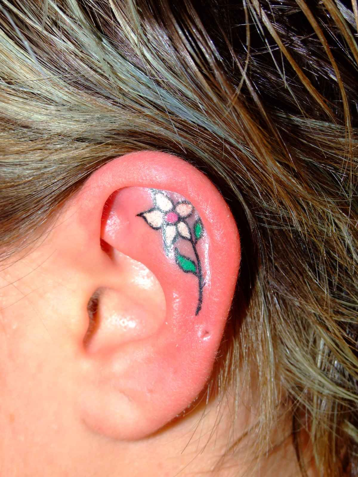 Images for lotus flower behind ear tattoo tattoo ideas images for lotus flower behind ear tattoo izmirmasajfo