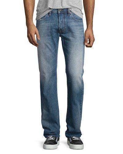 d18141f454825 DIESEL Larkee L32 Faded Straight-Leg Jeans, Blue .  diesel  cloth