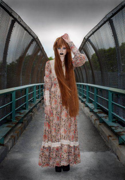 Amateur pantie redhead