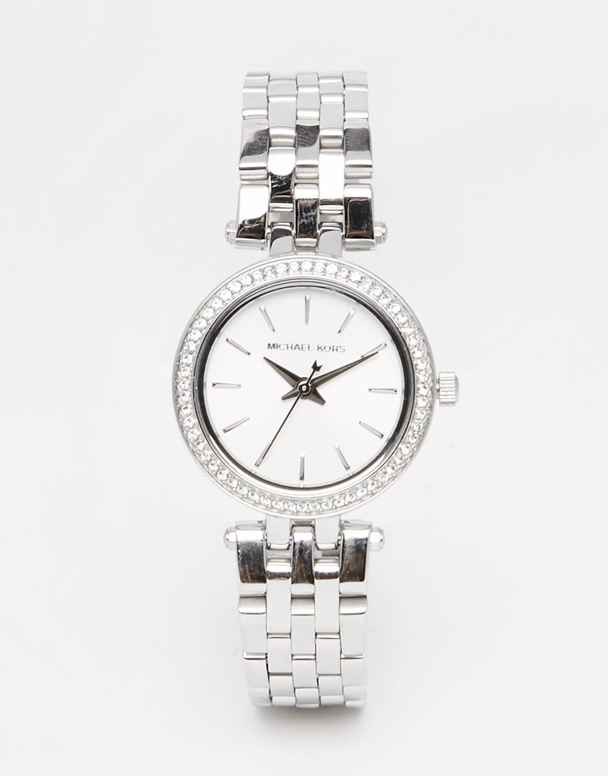 Michael Kors Darci Silver Midi Watch MK3294   Acessórios   Pinterest ... aeaf592029