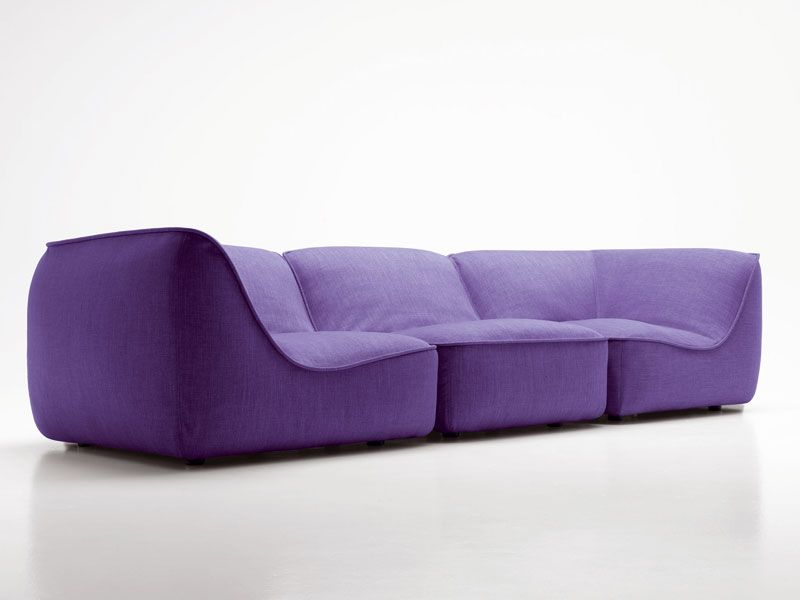 Upholstered Modular Sofa So Home Collection By Paola Lenti