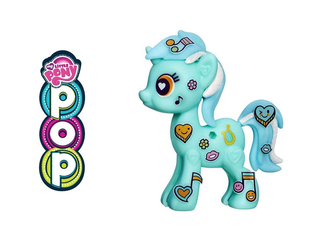 My Little Pony POP Lyra Heartstrings Starter Kit Build Klip Design Ponies