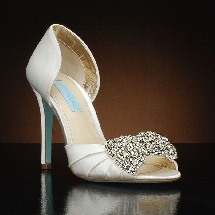 Betsey Johnson Gown Wedding Shoes And Gown Dyeable Bridal Shoes