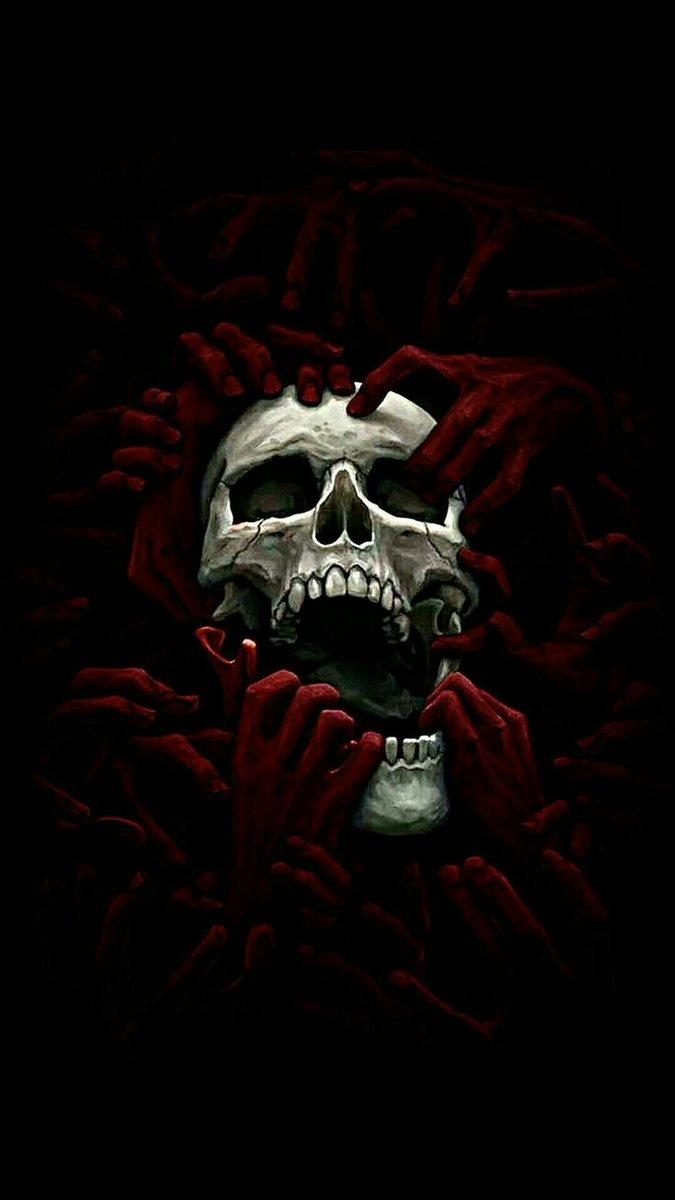 Angelous Angelou45328491 Twitter Skull Wallpaper Black Skulls Wallpaper Gothic Wallpaper