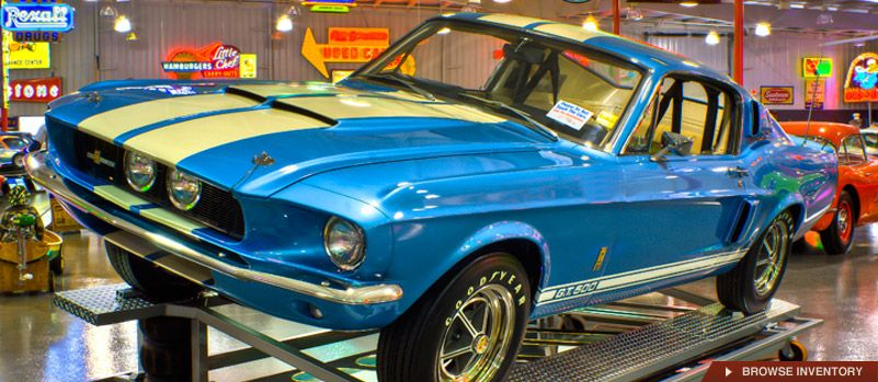 Greenwood IN Classic Car Dealer Ray Skillman Collector Car Sales - Muscle car dealers