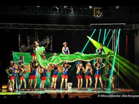 """Tanzgruppe Young Society mit ihrem Showtanz """"Dschungelcamp"""