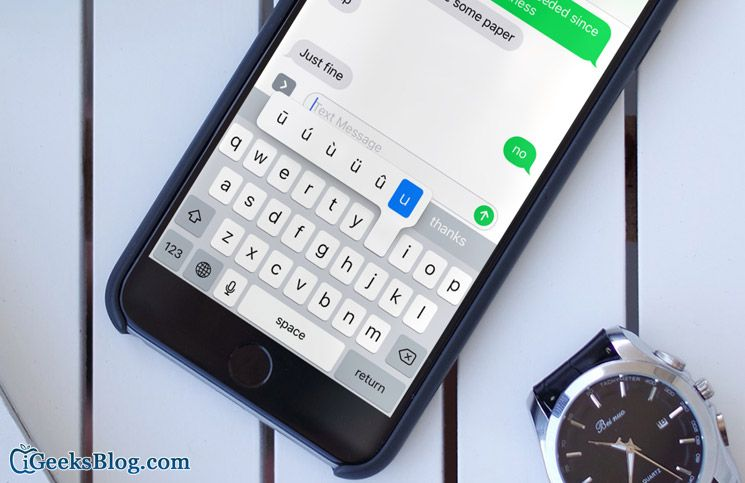 How to Type Special Characters and Symbols on iPhone or