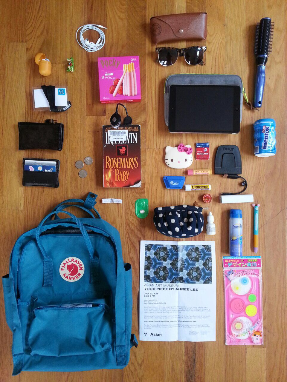 What S In My Kanken Kanken Kanken Whatsinmybag Fjallraven