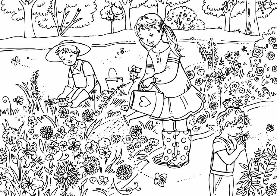 activity village printables coloring pages - photo#14