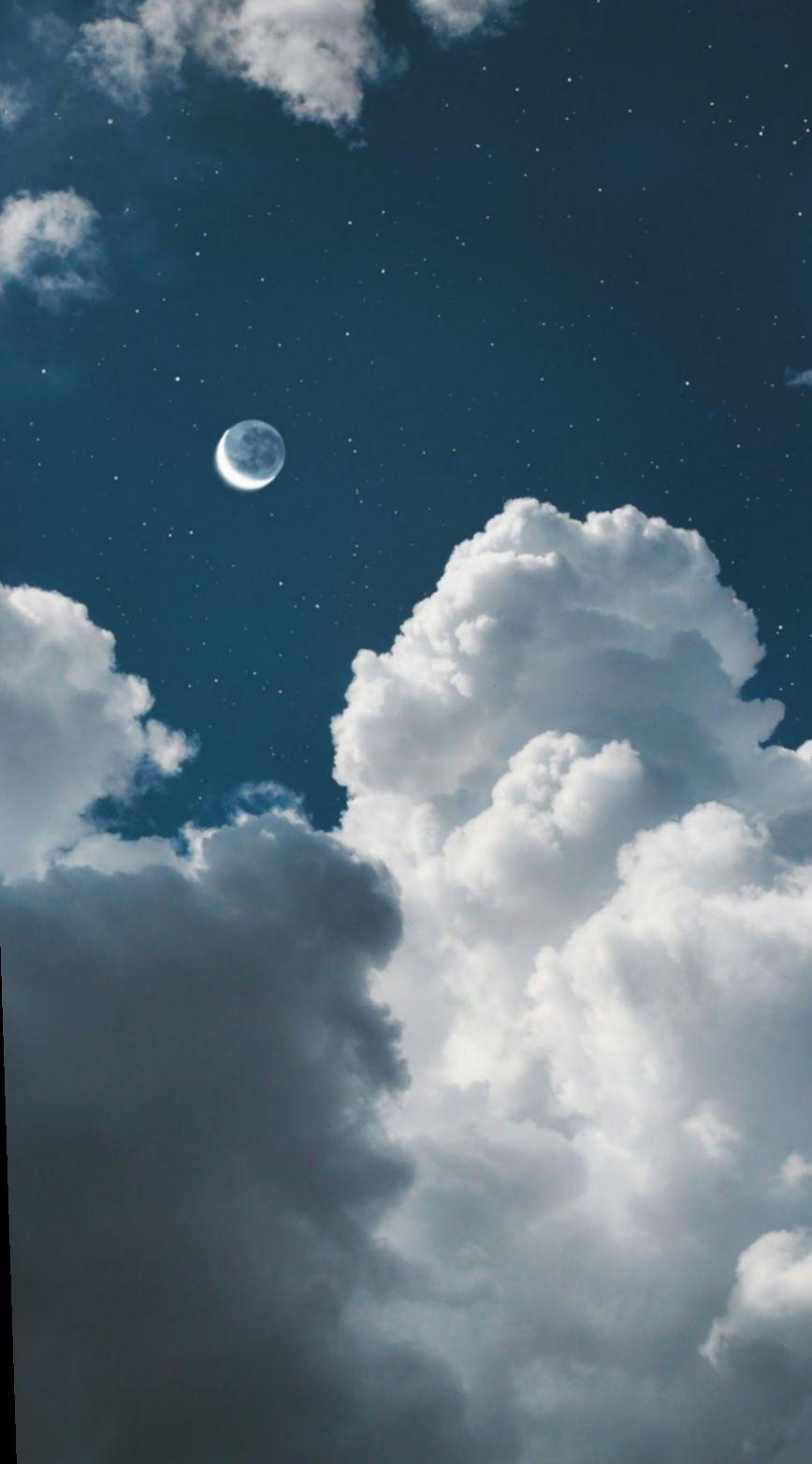 Wallpaper Blue Aesthetic Sky Animal Dark Iphone Wallpaper Ponsel Seni Ponsel