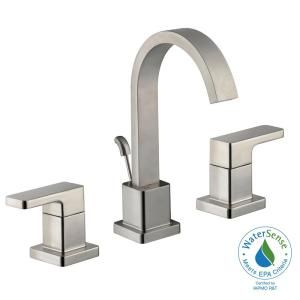 Schon Marx 8 in. Widespread 2-Handle High-Arc Bathroom Faucet in ...