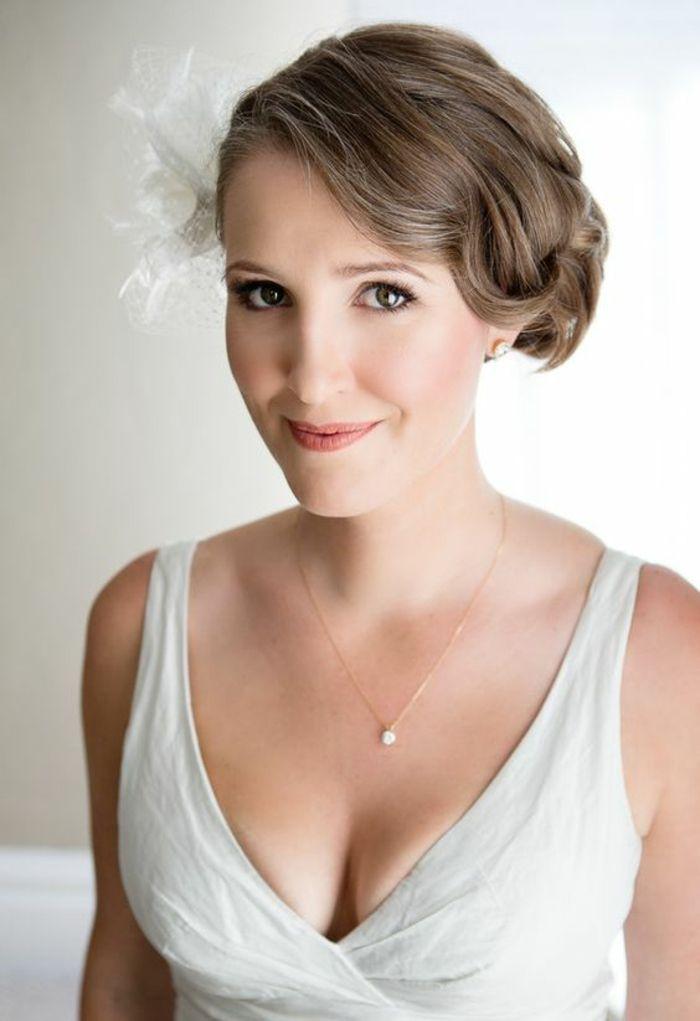 1001 + Idées pour une coiffure mariage cheveux courts