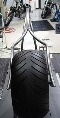 Good Diamond Chassis Chopper Frame And Lusso Wheel: The Custom Built Diamond  Chassis Frame For Sale