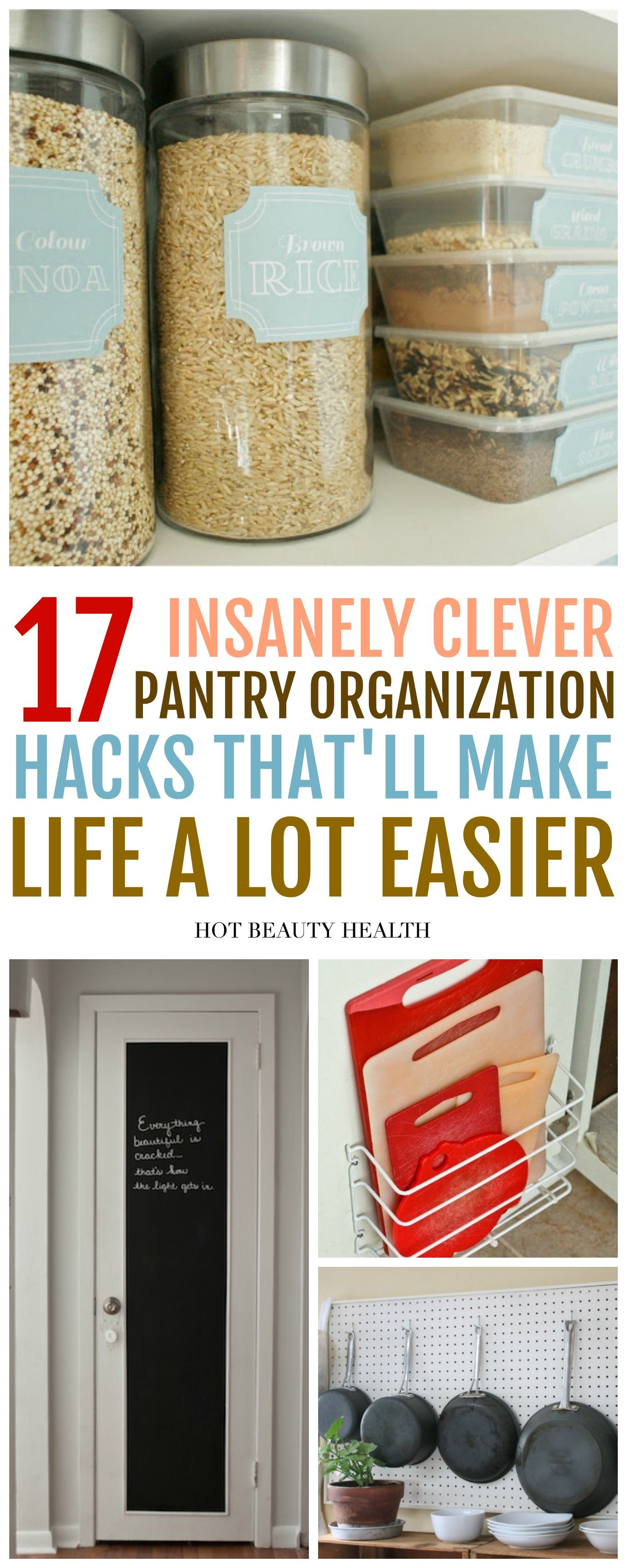 17 Insanely Clever Pantry Organization Hacks