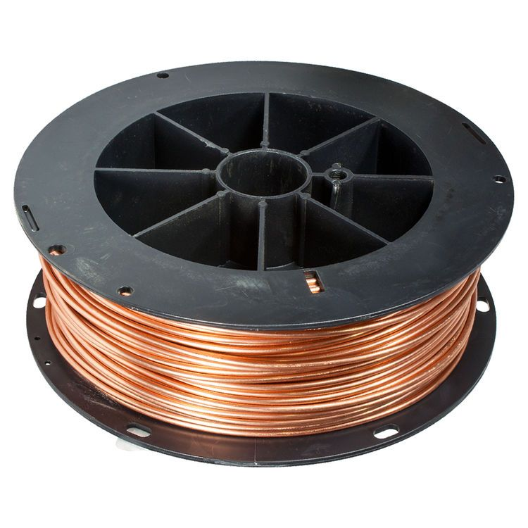 6 Awg #6 X 315` Roll Bare Copper Ground Wire | Insulation materials