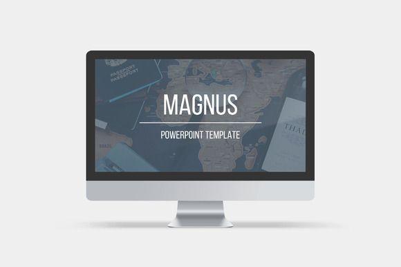 Magnus Powerpoint Template Presentation Templates On Creative