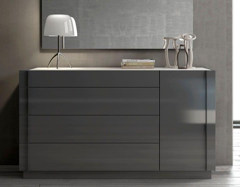 Modern Gray Dresser
