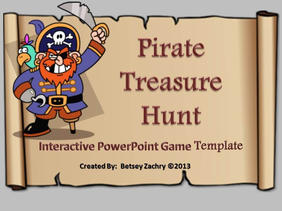 Pirate treasure hunt powerpoint game template golden key pirate pirate treasure hunt is an easy to use powerpoint game template designed toneelgroepblik Choice Image