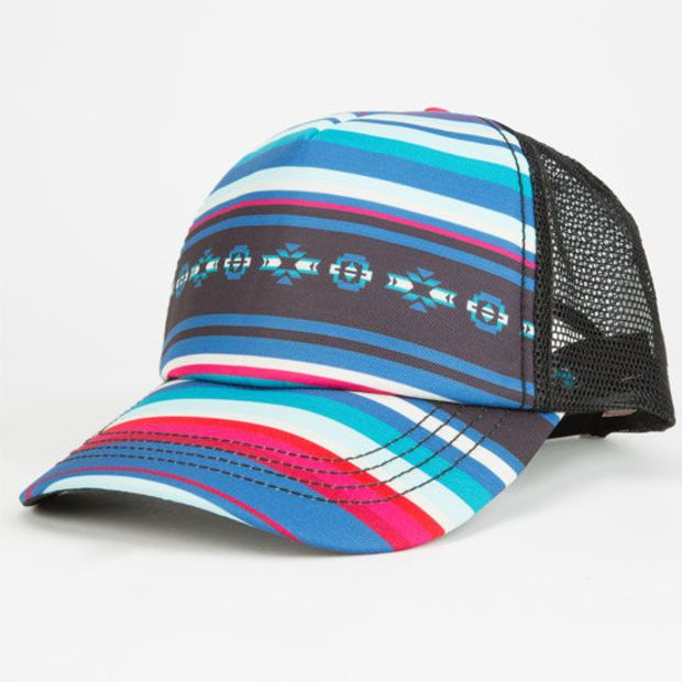 Billabong What You See Womens Trucker Hat Multi One Size For Women  25128895701 6173364b927