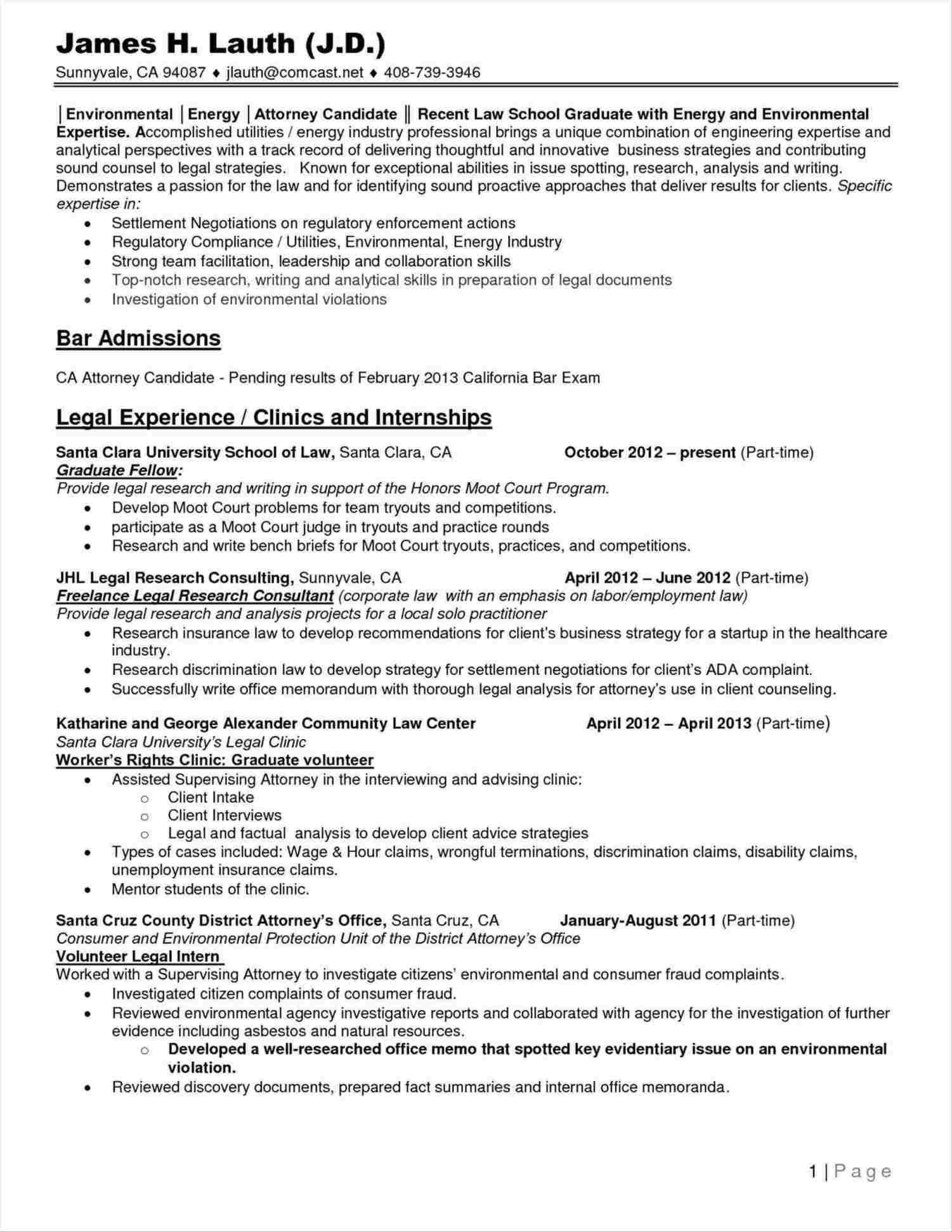 Real Talk: The Resume | Harvard Law School