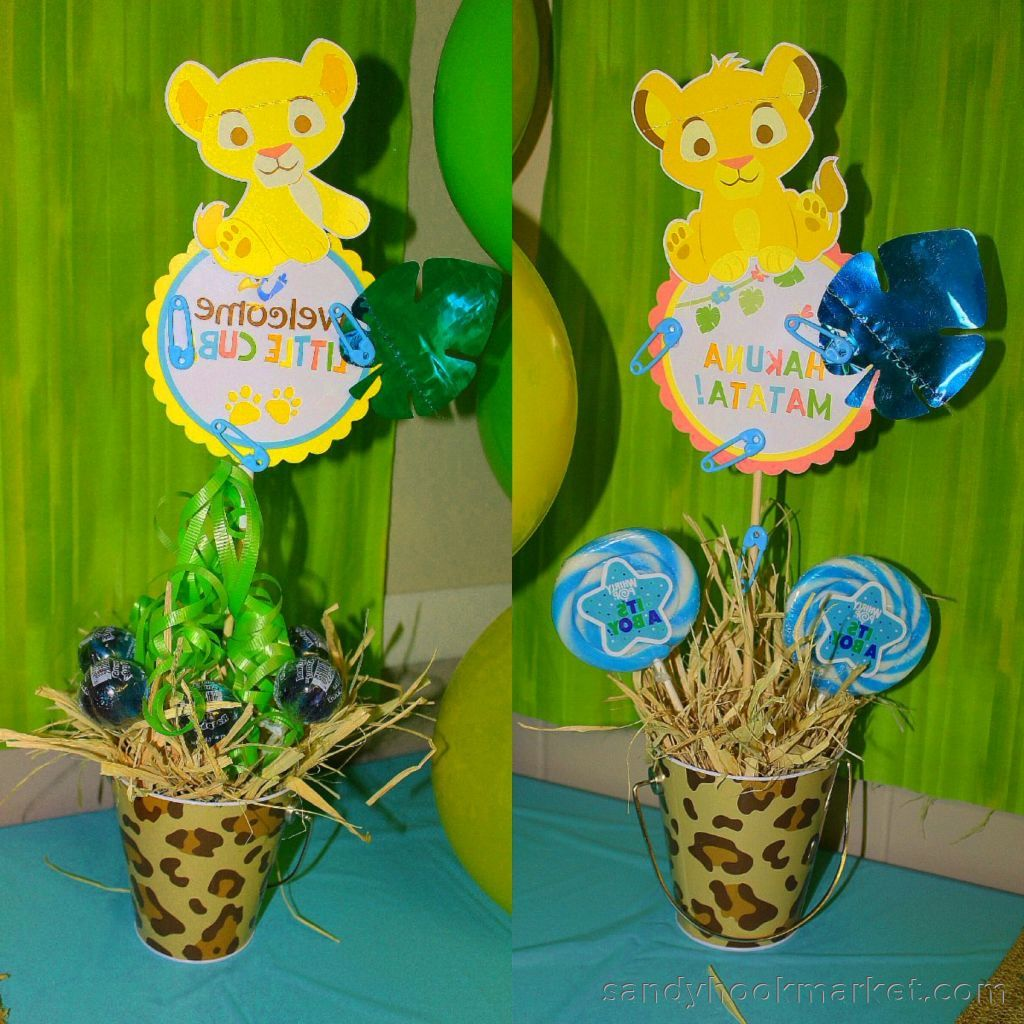 Lion King Baby Shower Decorations