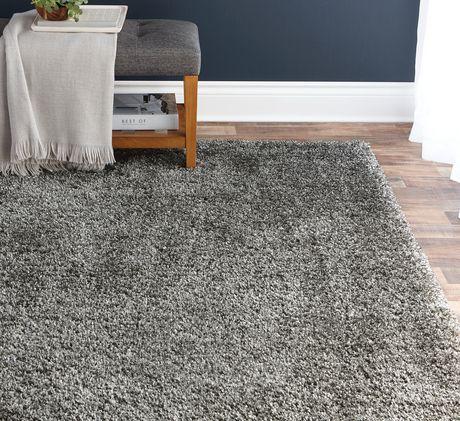 Hometrends Deluxe Grey Shag Rug Grey 5 Ft X 7 Ft Cheap Shag Rugs Grey Shag Rug Buying Carpet