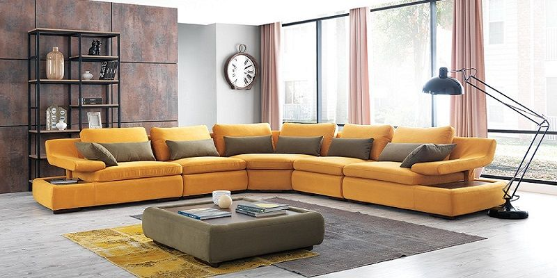 12 Best L Shaped Leather Sofa Designs 2019 #sofa #sofadesign ...