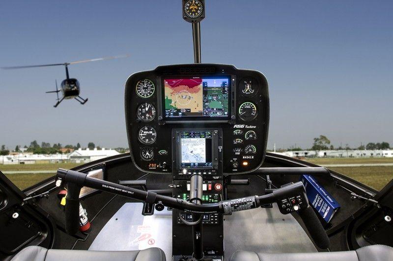 Robinson Introduces Two Garmin G500H TXi Displays | Sweet Ride