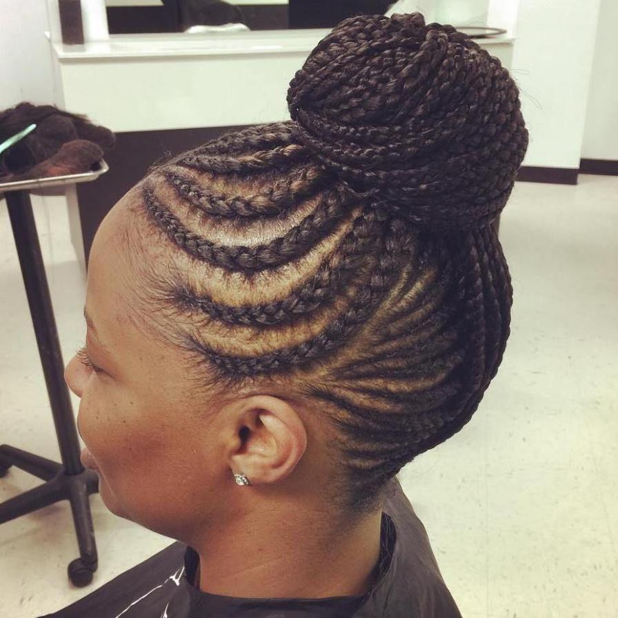 best black braided hairstyles that turn heads cornrows black