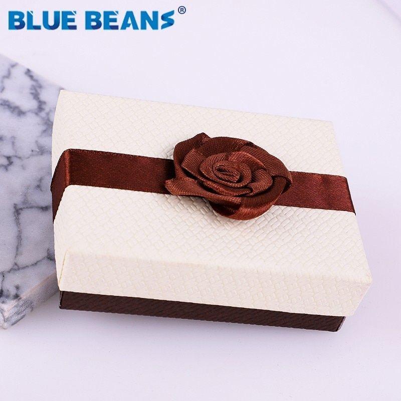 Gift Boxes Necklace Pendant Bracelet Ring Display Holder