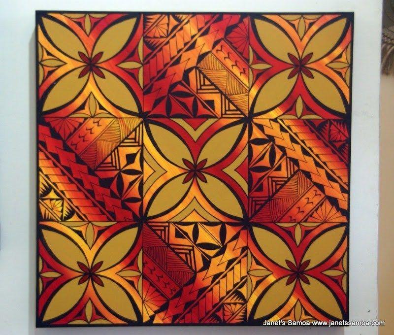Modern Samoan Tattoo Art Canvas Print Zazzle Com Tattoo Wall Art Samoan Tattoo Modern Wall Art Canvas