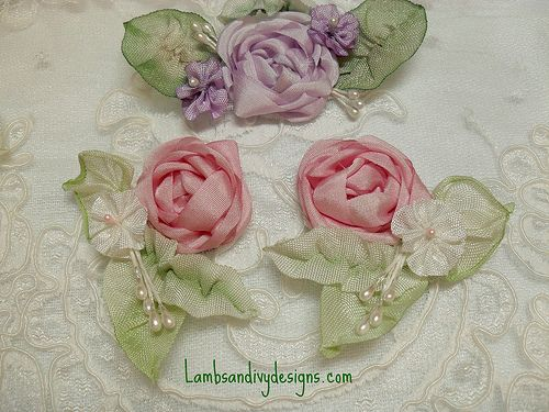 Silk Ribbon Embroidery Crafts And Decorating Pinterest Ribbon