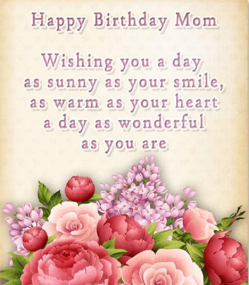Happy Birthday Poems For Mom Elegant Happy Birthday Poems For Mom