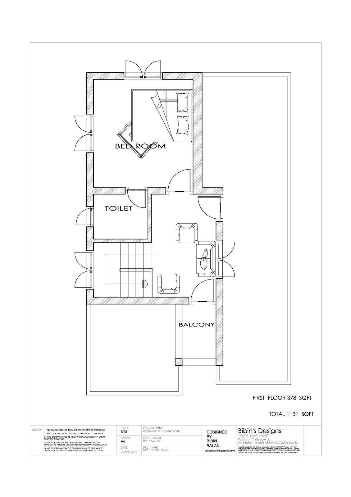 Free floor plan of modern house Modern bungalow house