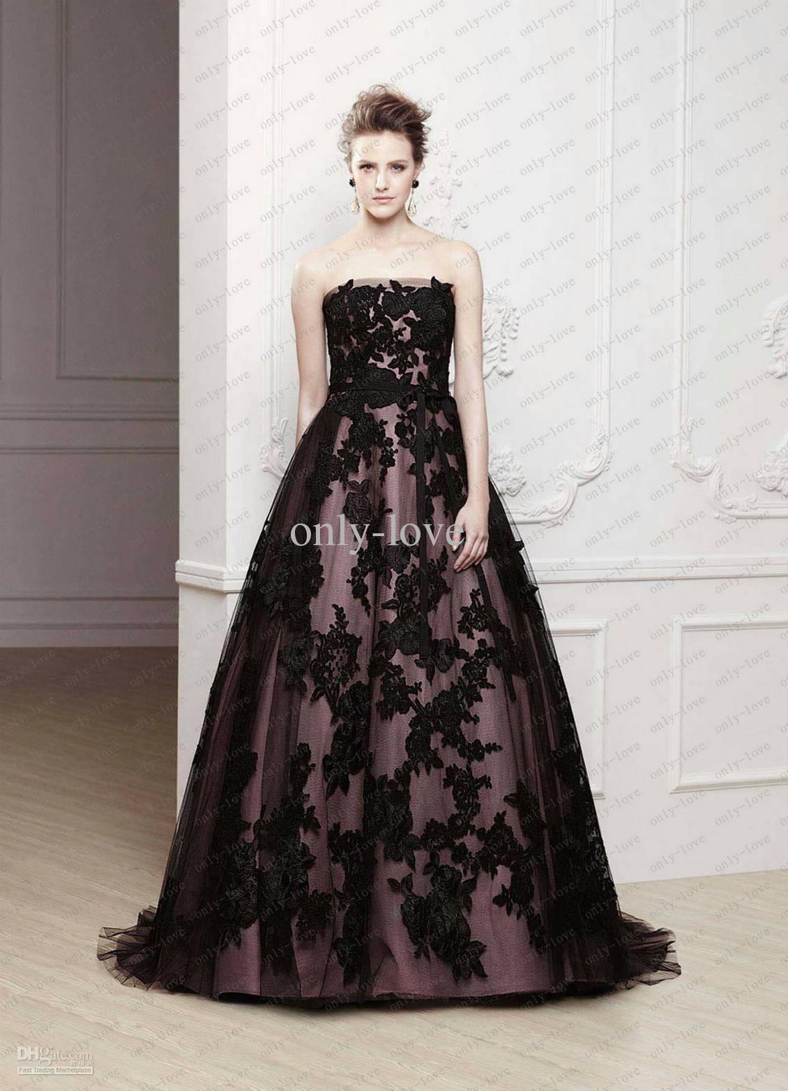 Black wedding dresses fashion trends black wedding dress