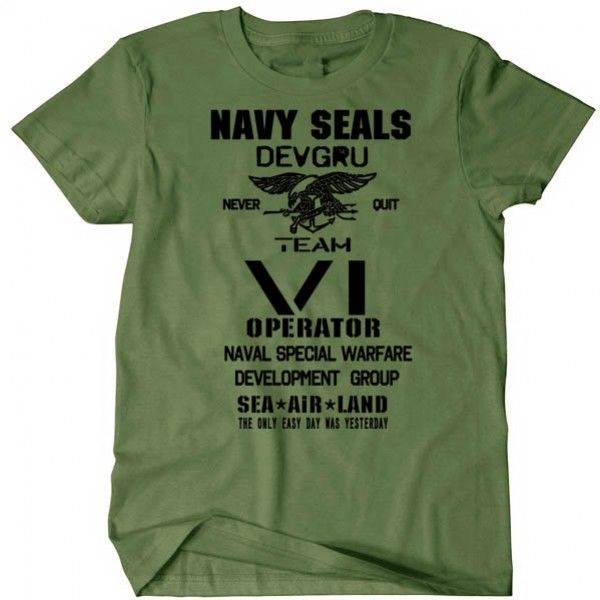 Opérations spéciales marines USA ARMY U.S vétéran Militaire T-shirt Airborne USA