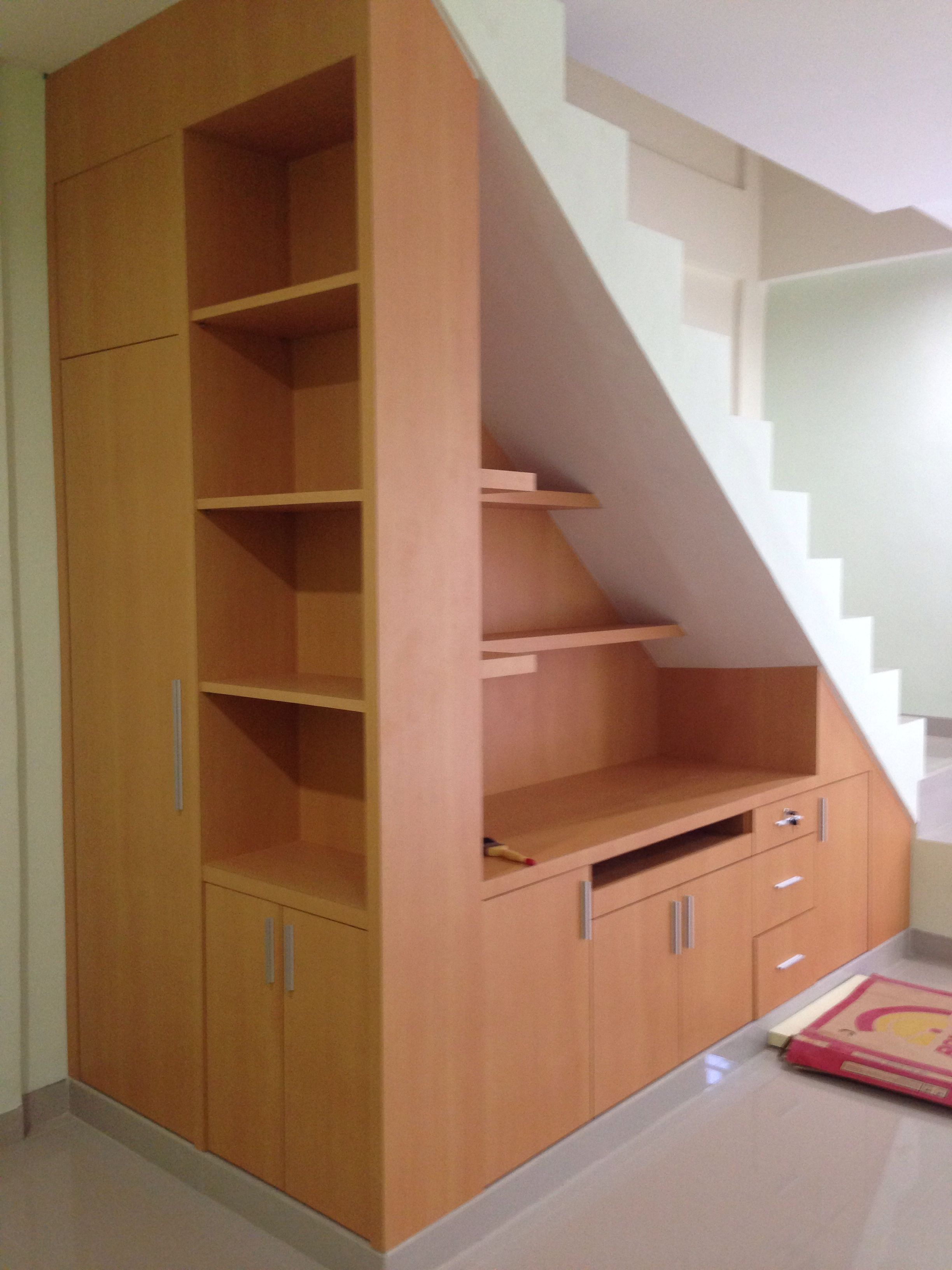 under stairs office. Under Stair Storage @ Anugerah Mitra Bahari Office Space. Stairs 2